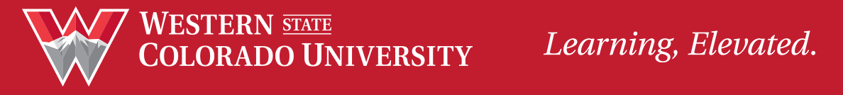 Western State Colorado University - Learning, Elevated.